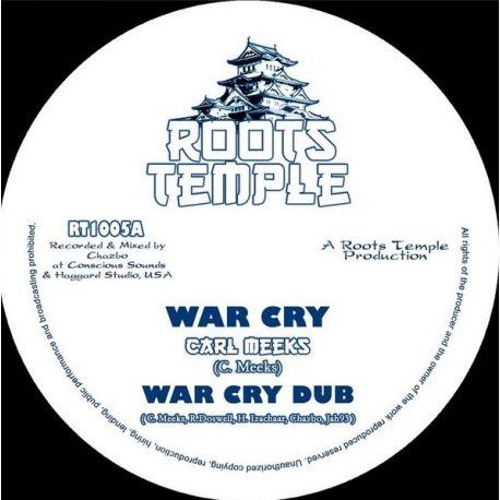 "Carl Meeks /  Chazbo /  Jah 93 - War Cry - 10"""
