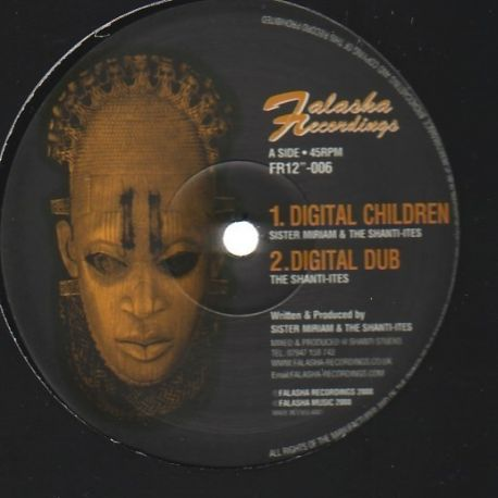 Sister Miriam /  The Shanti-Ites - Digital Children / Jah Love - 12""