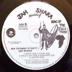 Jah Shaka - New Testaments Of Dub Part 1 - LP