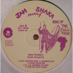 Max Romeo - Our Rights - LP
