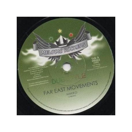 """Makiko /  Ital Mick - Far East Movements - 7"""""""