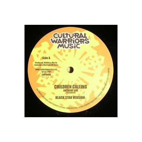 Anthony Que , Warriors All Stars - Children Calling - 10""