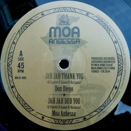 Don Diego  /  Well Jahdgment - Jah Jah Thank You / Step It Up - 12""