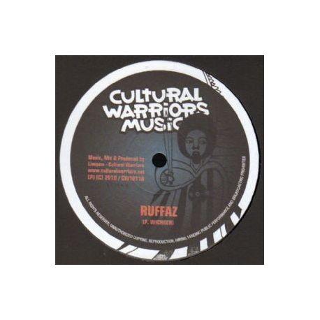 "Cultural Warriors Music - Ruffaz - 10"""