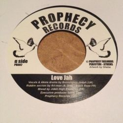 Bunnington Judah /  Artman  - Love jah - 7""