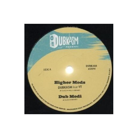 Dubkasm /  YT /  Rudey Lee - Higher Meds - 12""