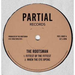 The Rootsman - Fittest Of The Fittest / Only Jah - 10""