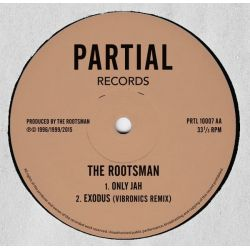 """The Rootsman - Fittest Of The Fittest / Only Jah - 10"""""""