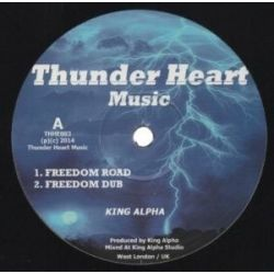 King Alpha - Freedom Road - 10""