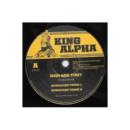 Shaka Black /  King Alpha - Who Are You - 12""