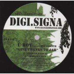 U-Roy /  Don Goliath /  Daddy Spencer - Give Thanks To Jah / Weep & Mourn - 12""