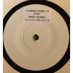 Bingy Bunny /  King Tubby - Coming Home To Zion / Coming Home To Zion Dub - 7""