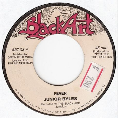 Junior Byles /  King Medious - Fever / This World - 7""