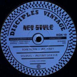 "Dixie Peach , Disciples - Militant , Roaring Lion Dub - 10"""