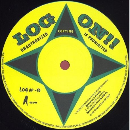 Martin Campbell /  Hi Tech Roots Dynamics - Ignorance & Poverty / Famine - 10""