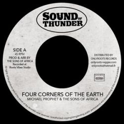 """Michael Prophet /  Mr Haze & The S.O.A - Four Corners Of The Earth - 7"""""""