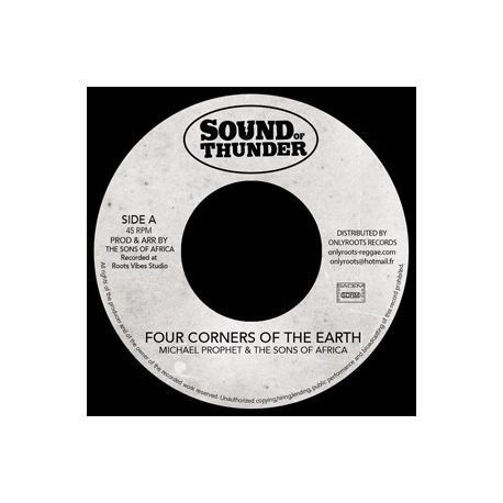 Michael Prophet /  Mr Haze & The S.O.A - Four Corners Of The Earth - 7""