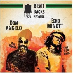 Echo Minott /  Don Angelo - Mr Bad Boy EP - 12""