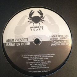 "Adam Prescott /  Cornell Campbell /  Donovan King Jay /  - Liberation Riddim - 12"""