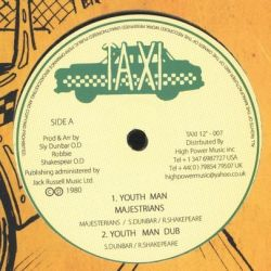The Majesterians /  The Psalms - Youth Man / Hell Up In A Harlem - 12""