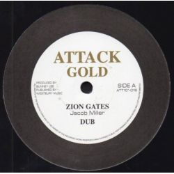 Jacob Miller /  Johnny Clarke - Zion Gates + Enter His Gates - 12""
