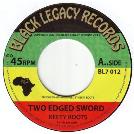 Keety Roots - Two Edged Sword - 7""