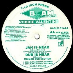Rod Taylor /  Robbie Valentine - Like An Angel / Jah Is Near - 10""