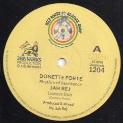 "Donette Forte - Rhythm Of Resistance - 12"""