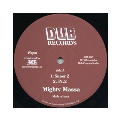 Mighty Massa /  Jah Light - Super Z / Indica Stepper - 12""