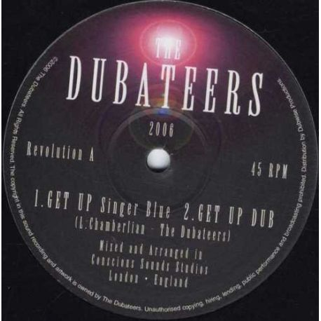 "Singer Blue & Dubateers, The - Get Up - 10"""