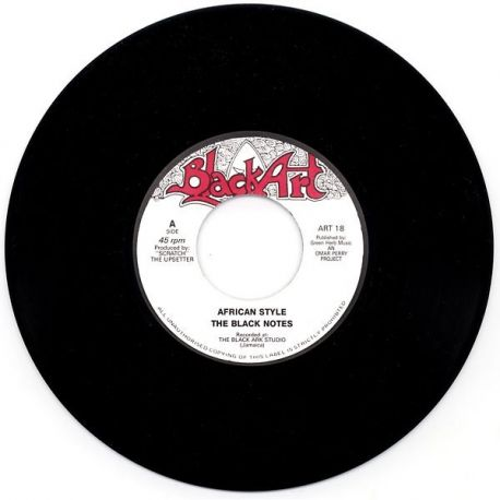 The Black Notes - African Style - 7""