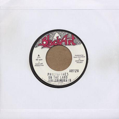 """Junior Murvin /  The Upsetters - Philistines On The Land / Bingo Kid - 7"""""""