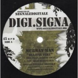 Murray Man /  Zion Train - Blazing Fire - 12""