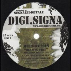 "Murray Man /  Zion Train - Blazing Fire - 12"""