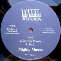 Mighty Massa /  Jah-Light - Warrior March - 10""