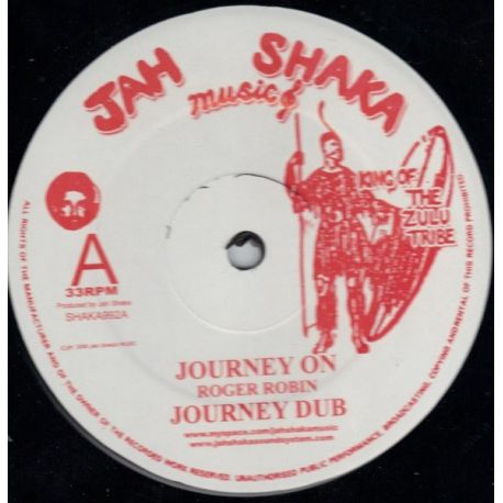 """Roger Robin - Journey On/ Them Say We Wrong - 12"""""""