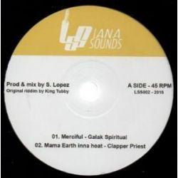 """Galak Spiritual /  Clapper Priest /  George Palmer - Merciful  - 10"""""""