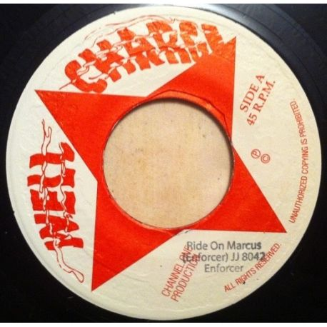 Enforcer  - Ride On Marcus - 7""