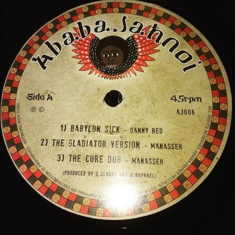 Danny Red - Babylon Sick / Jah Is Here - 12""