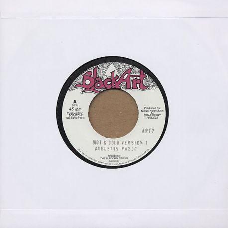 """Augustus Pablo - Hot & Cold Version 1 - 7"""""""