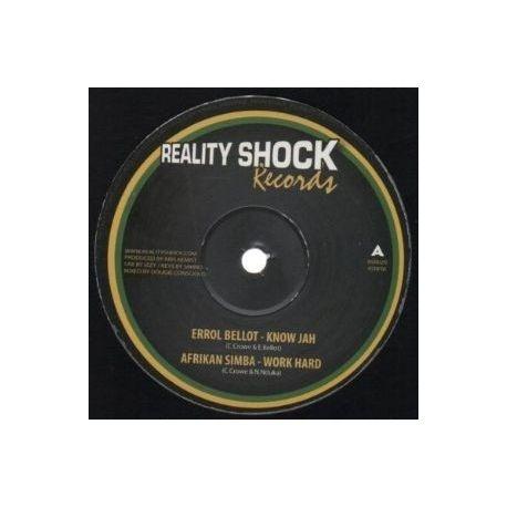 """Errol Bellot /  Afrikan Simba /  Mikey General - Know Jah / Work Hard / Mister Sun - 10"""""""
