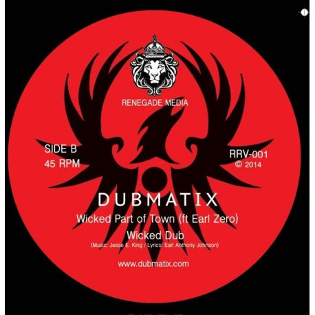 Dubmatix -  Wicked Dub & Free Up Dub - 10""