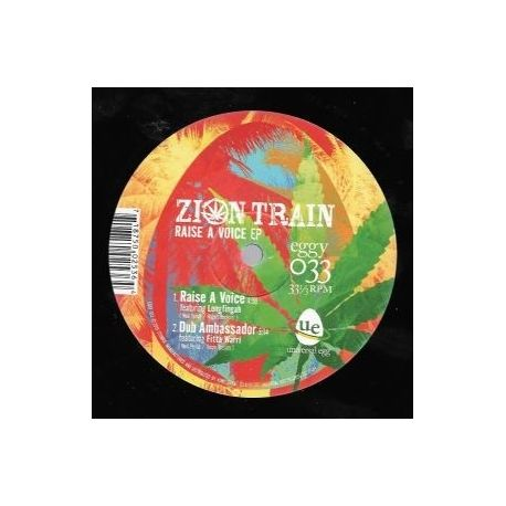 Zion Train /  Longfingah /  Horace Andy /  - Raise A Voice EP - 10""