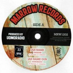 Chezidek /  Mark Wonder - Jah name /forever  - 12""