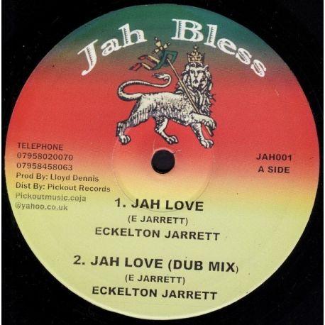 """Eccleton Jarrett - Jah Love - 10"""""""