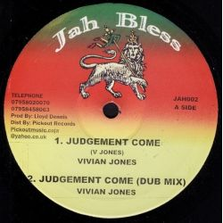 Vivian Jones - Judgement Come - 10""