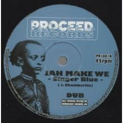 Singer Blue - Jah Make We - 10""