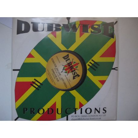 Carl Gentles , Judy Green - Bush Craft , Down For Jah Love - 10""