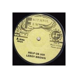 Leroy Brown  - Help Us Jah - 12""