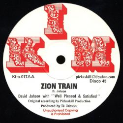David Jahson - People Bawling / Zion Train - 12""
